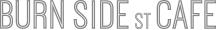 BURN SIDE st CAFE(バーンサイドストリートカフェ)ロゴ