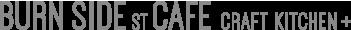 BURN SIDE ST CAFE CRAFT KITCHEN+(バーンサイドストリートカフェ キッチンプラス)ロゴ